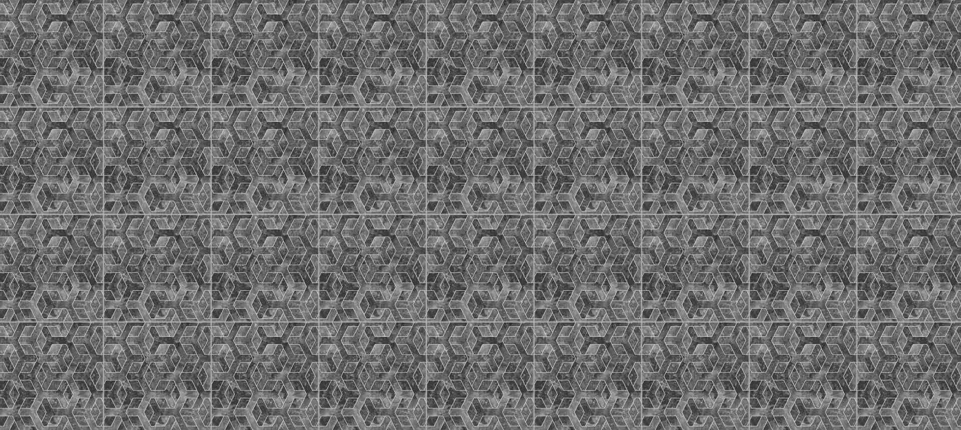 RP1067 Nero Hexagon